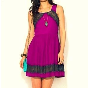 Free People Dress with Lace Detail